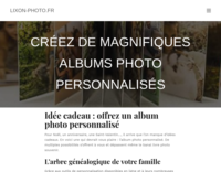 Screenshot lixon-photo.fr